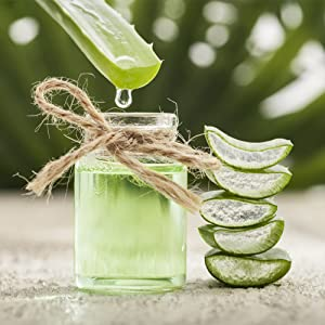 Extracted from Natural Aloe Vera