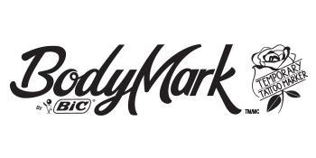 BIC BodyMark tattoo marker logo