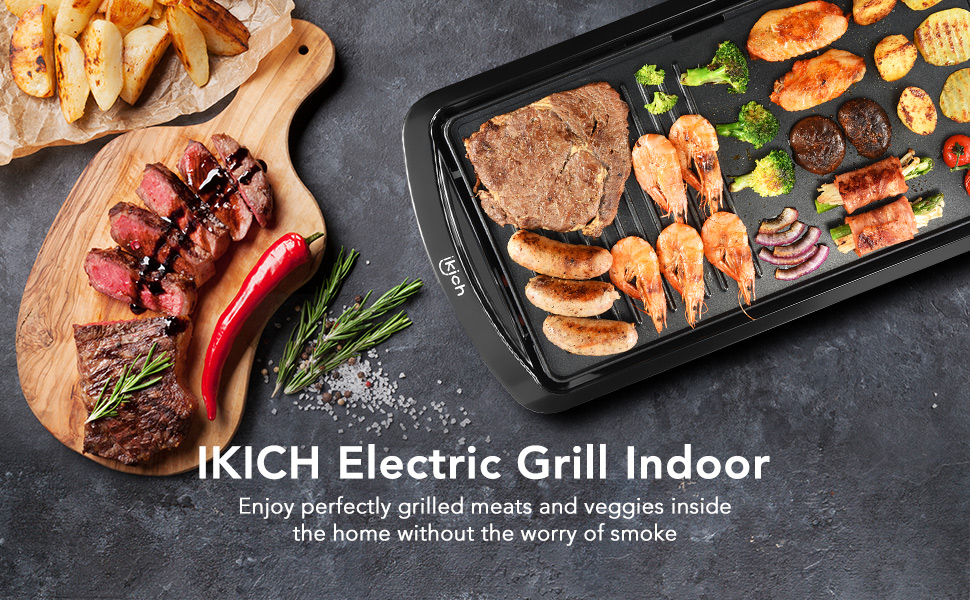 Nonstick Electric Griddle Pan