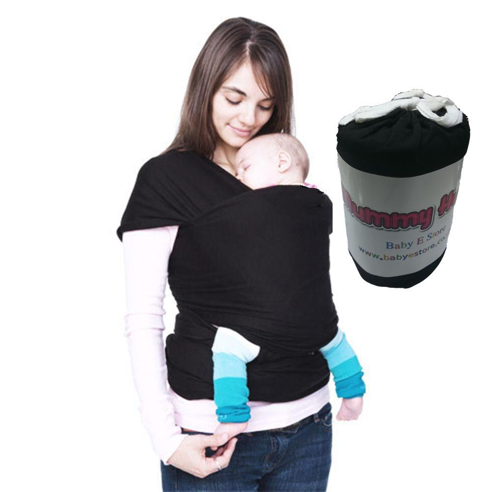 Mummy Hug New Baby Sling Adjustable Wrap Carrier Pouch ...