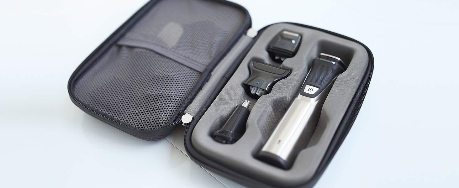 Philips Barbero MG7770/15 Recortador de barba y pelo, óptima precisión, 18 en 1 tecnología Dualcut, autonomía de 120 ...