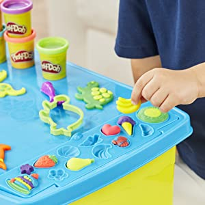 kids play table; playdoh; playdough; non-toxic play dough; modeling clay; store toys for kids