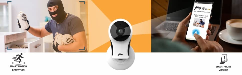EVE NX Cube - Smart Motion detection + Smart Phone Viewing