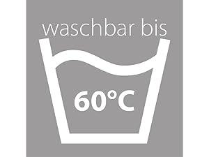 wei/ß Traumnacht 3-Star Seitenschl/äferkissen waschbar weich und bequem aus softer Microfaser 40 x 200 cm