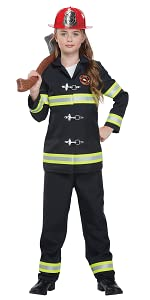 Fire Fighter, Girl's Costume, occupational Costume, Cop Costume, Police Costume, Book Week