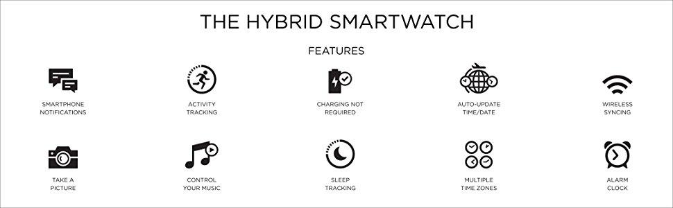Michael Kors Hybrid Watch Features