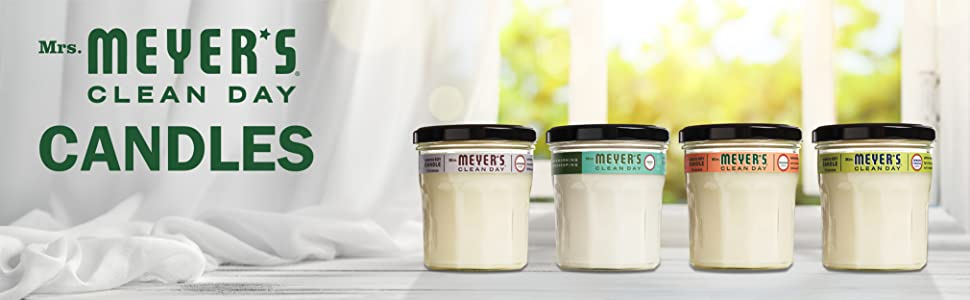 Mrs. Meyer's Scented Jar Candles