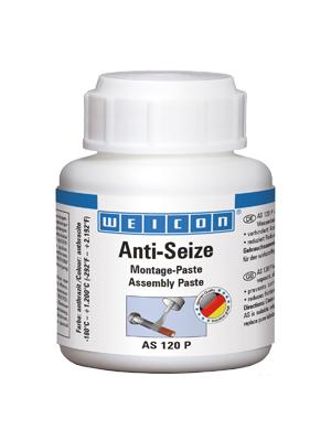 Weicon 26000012 Anti Seize Montagepaste 120g Hitzebeständiger Schutz Gegen Korrosion Pinseldose Auto
