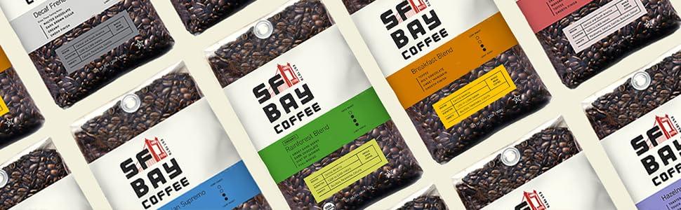 sf bay coffee, coffee k cups