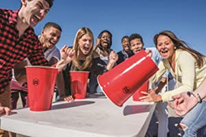 Flip Cup, Solo Cup, Giant Cup, Beach Game, College, Drinking Game, Tailgate Game