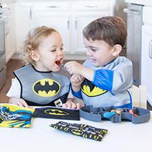 batman baby bibs