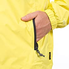 Trespass waterproof jacket;packaway jacket;foldable jacket;fold away;lightweight;light jacket;jacket