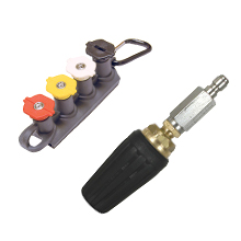 universal nozzles, quick connect, power washing, rotary nozzles, variable nozzle, pressure accessory