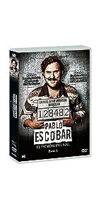 Pablo Escobar: El Patron del Mal Pt. 1 DVD