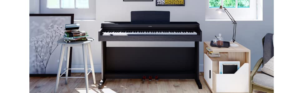 Amazon.com: Yamaha YDP103 Arius Series Piano with Bench, Dark Rosewood:  Musical Instruments