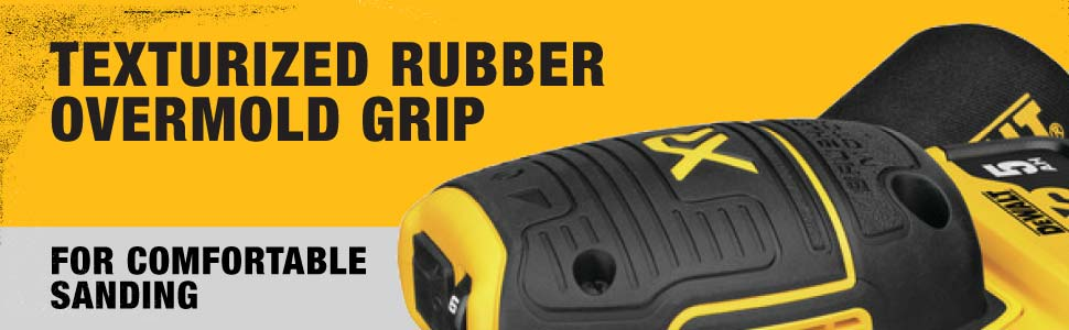 rubber overmold grip