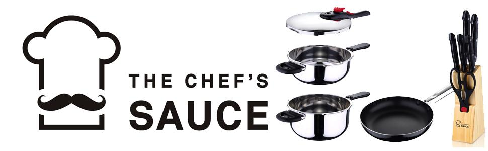 Chef Sauce Set 7 Cuchillos