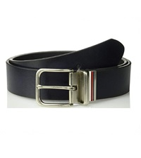 mens reversible leather black belt