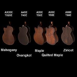 Musical Instruments & Gear Helpful 2019 Prs Se A55e Angelus Black Gold Burst Acoustic Electric Online Discount