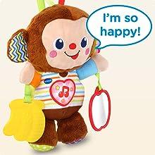 VTech Baby Cuddle amp; Swing Monkey