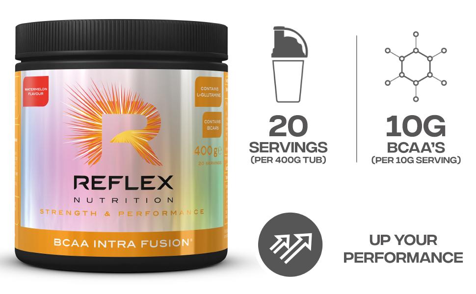 Reflex Nutrition BCAA Intra Fusion (400g) 400 g: Amazon.es ...