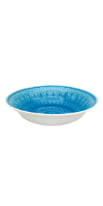 Fez Oval Serving Bowl in Turquoise
