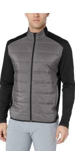 Ultrasonic Quilted Full Zip Jacket