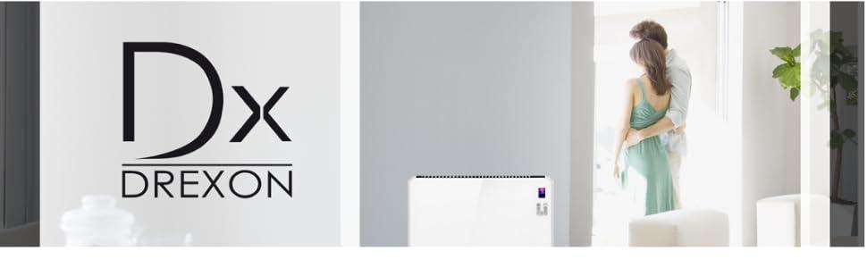 20000 W Radiateur /à Inertie C/éramique DREXON 744020 Blanc