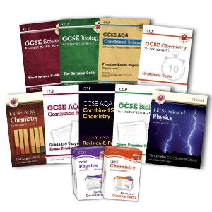 GCSE Science from CGP — Biology, Chemistry, Physics, Combined Science