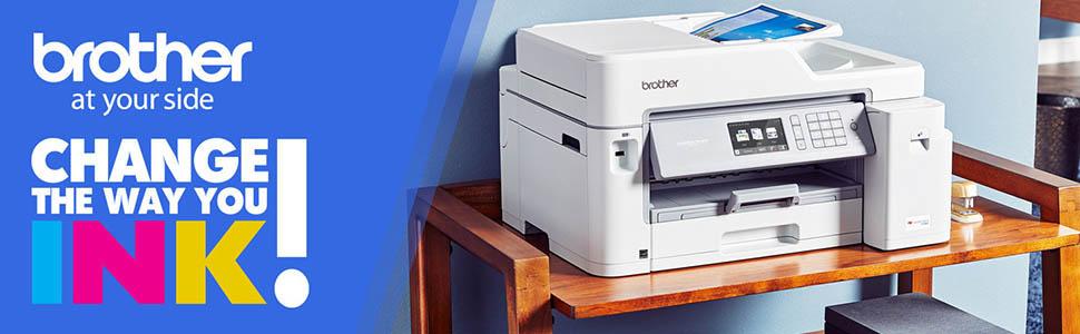 printer; all-in-one; inkjet; MFC-J5845DW; wireless; duplex; mobile; wifi; cloud; high; ink; tank