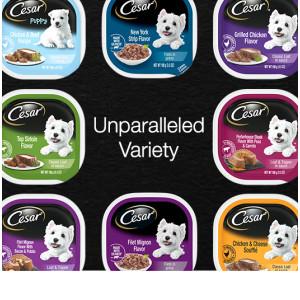 Unparalleled Variety, Variety Pack Dog Food, Dog Food Variety Pack, Steak, Beef, Chicken