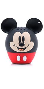 mickey mouse, disney, bitty boomer, bluetooth, speaker