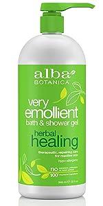 Very Emollient Herbal Healing Bath & Shower Gel
