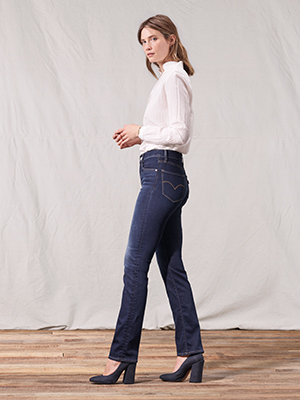 levis jeans mujeres vaqueros 724 producto mujeres