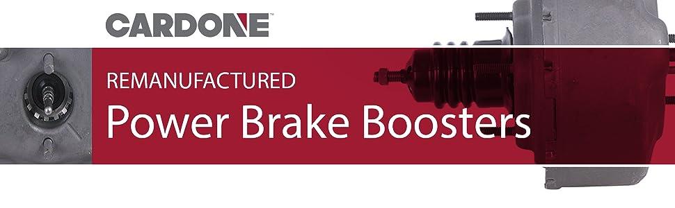 Cardone Remanufacture Power Brake Booster