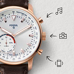 fossil q; hybrid smartwatch; hybrid smart watch; smart watch; men's smart watch; men smartwatch