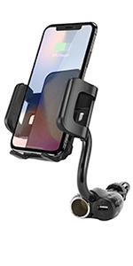 Car cup phone holder wireless mount accessories cell iottie dashboard stand holder windshield spigen