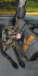 kurgo wander dog hammock, dig hammock, pet hammock, suv rear seat covers dogs, dog srat belt