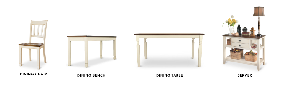 dining chair table bench server