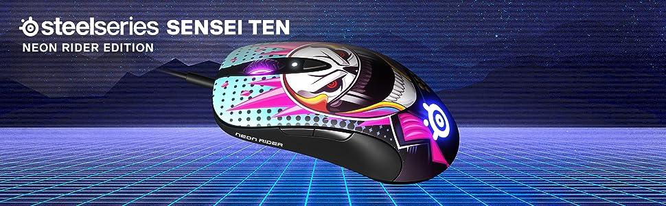 SteelSeries Sensei Ten Neon Rider Edition