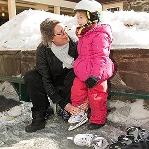 Kids ice skates, kids adjustable ice skates