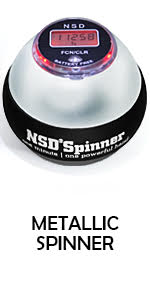NSD Metallic Spinner
