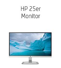 HP 25er Monitor