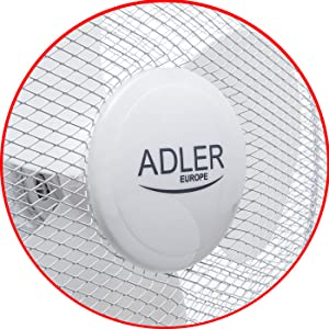 Ventilador Color Blanco, 55 w, 230 v, 50 hz, 2,45 kg, 2,7 kg . Adler ad 7305 55w Color Blanco