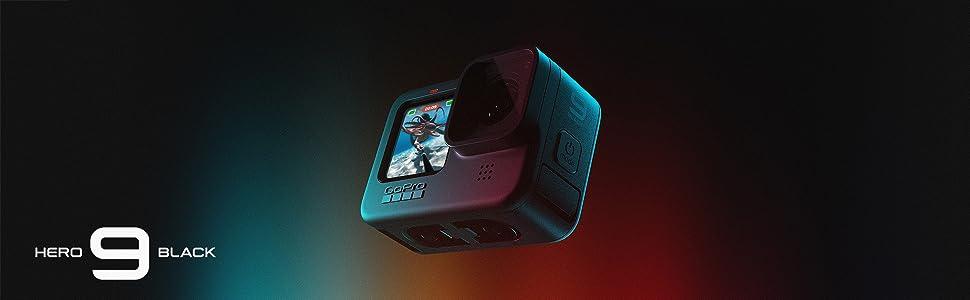 GoPro HERO9 Black - Caméra embarquée étanche avec écran LCD
