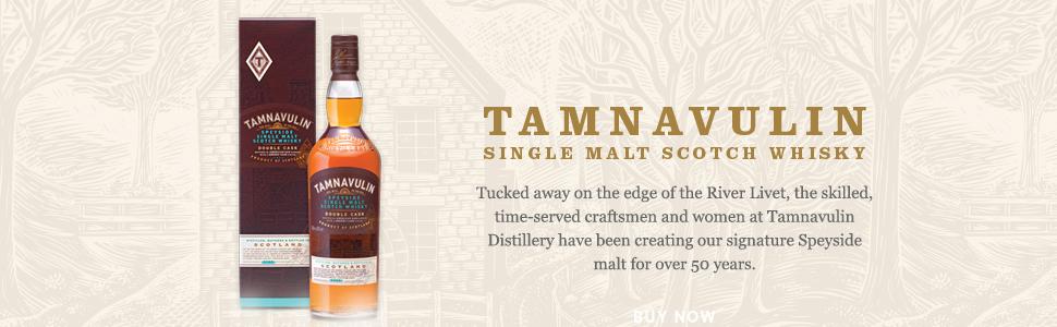 Tamnavulin Speyside Single Malt Scotch Whisky - Double Cask, 70 cl