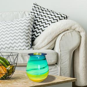 essential oil burner Massive clamshell wax or tart melt warmer thai art living room decor boho chic home decor