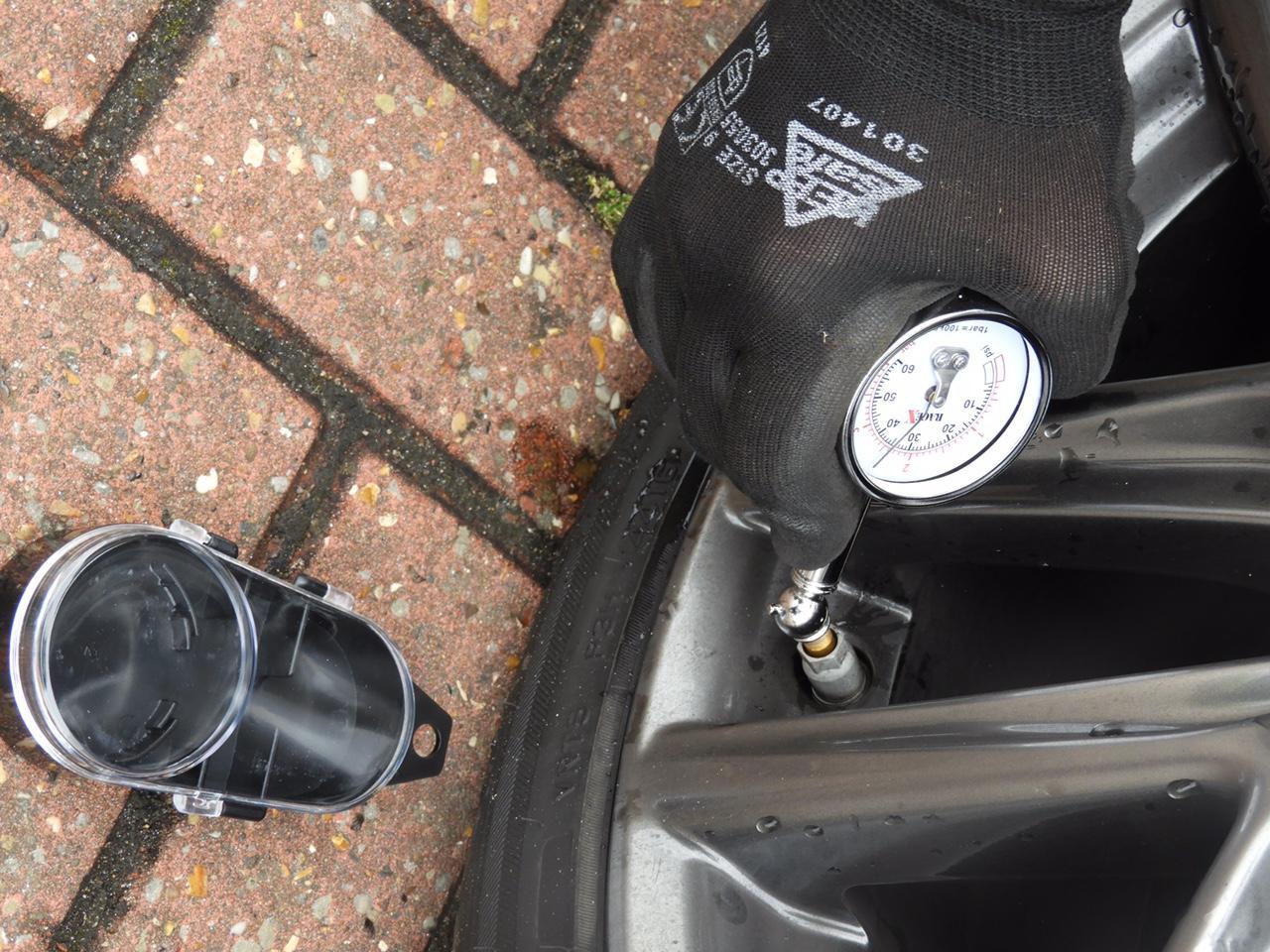 RACE-X Tyre pressure Gauge Car Van Bike RX0014 AutoExpress AWARD WINNER
