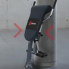 Sportstech Entrenador Espalda Abdomen 3EN1 Patentado Innovador Diseño Antideslizante BRT200 Plegable