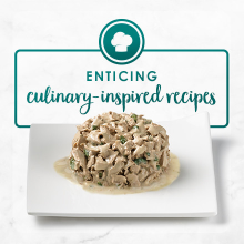 Enticing, culinary inspired recipes